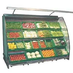 холодильная горка для овощей и фруктов