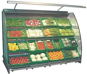 прилавки для овощей и фруктов фото